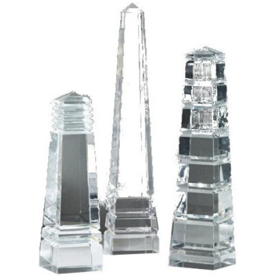 Barton Crystal Obelisks, 3 Designs