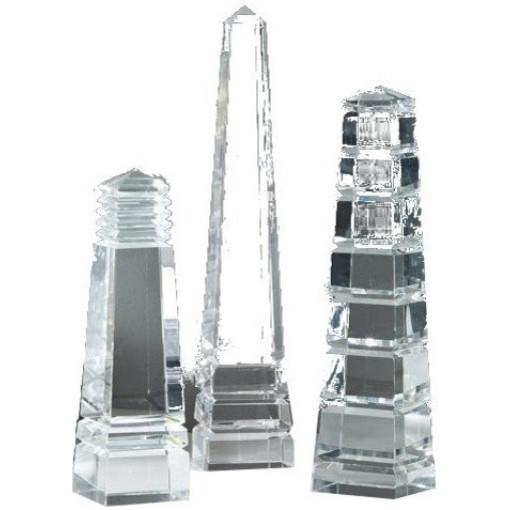 Barton Crystal Obelisks, 3 Designs