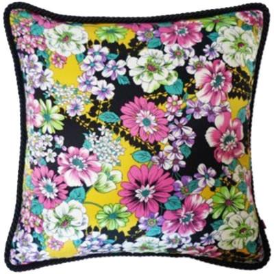 """""""Jenica"""" Night Garden Silk Pillow"""