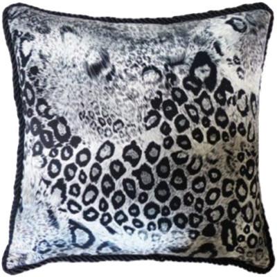 """Patsy"" Leopard Silk Pillow"