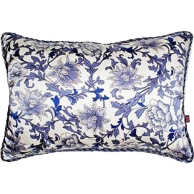 """Reina"" Porcelain Silk Pillow"