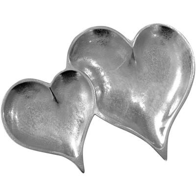 Double Heart Tray