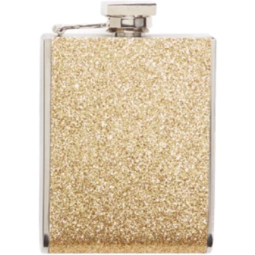 Glitter Flask, Gold