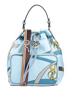silk print scarf handbag